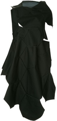 Comme Des Garçons Pre Owned Geometric Cut Out Dress