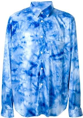 Comme des Garcons Tie-Dye Shirt