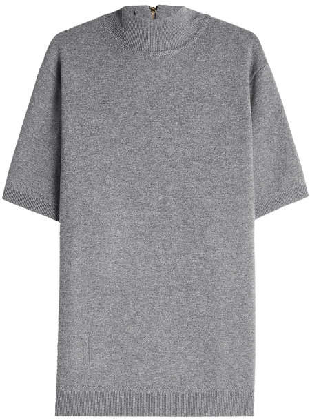 Marc Jacobs Short Sleeved Pullover with Wool and Cotton