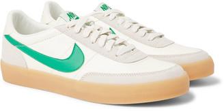 Nike Killshot 2 Suede-Trimmed Leather Sneakers