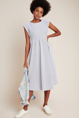 Maeve Rosemarie Tee Dress By in Grey Size M