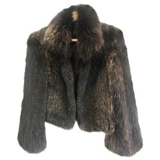 Karl Donoghue Brown Fox Jacket for Women