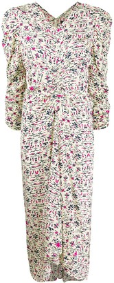 Isabel Marant Albi floral-print dress
