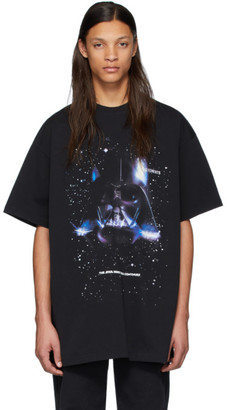 Vetements Black STAR WARS Edition Darth Vader T-Shirt
