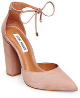 Steve Madden Pamperd Nubuck Leather Pumps