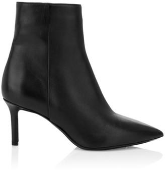 Aquatalia Mackenzie Leather Ankle Boots