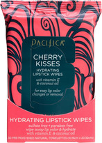 Pacifica Cherry Kisses Hydrating Lipstick Wipes