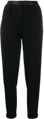 Styland High Waisted Tapered Trousers