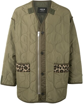 FIVE CM Oversized Quilted Jacket