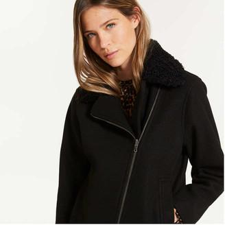 Joe Fresh Women's Moto Jacket, JF Black (Size XL)