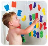 Munchkin Letters & Numbers Bath Toy Set