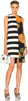 MSGM Stripe Printed Dress