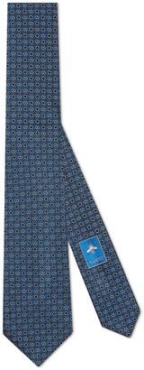 Gucci Ken Scott x monogram silk tie