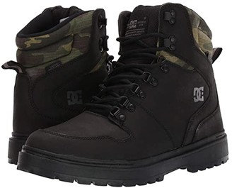 DC Peary TR (Black Camo) Men's Lace-up Boots