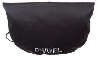 Chanel Satin Drawstring Pouch