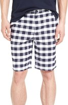 Lacoste Gingham Golf Shorts