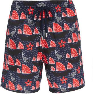 Vilebrequin Mahina Hong Kong Printed Swim Shorts