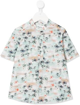 Bonpoint Palm Tree Print Shirt