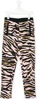 Kenzo tiger stripe leggings