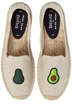 Soludos Women's Avocado Embroidered Platform Espadrille
