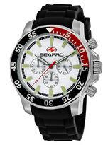 Seapro Sea-Pro Scuba Explorer Mens Black Strap Watch-Sp8330