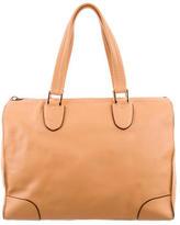 Valextra Leather Babila Bag