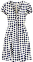 Denim & Supply Ralph Lauren Checked Lace-Up Dress