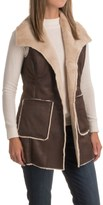 Weatherproof Faux-Shearling Vest (For Women)