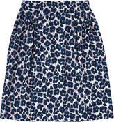 Cath Kidston Leopard Flower Modal Twill Skirt
