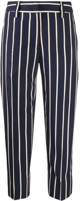 Seventy Striped Cropped Trousers