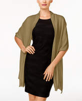 INC International Concepts Satin Wrap & Scarf in One, Only at Macy's