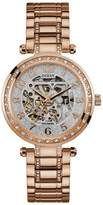 GUESS Women's Gold-Tone Automatic Watch