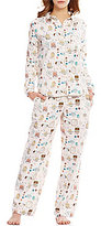 Sleep Sense Funny Owls Flannel Pajamas