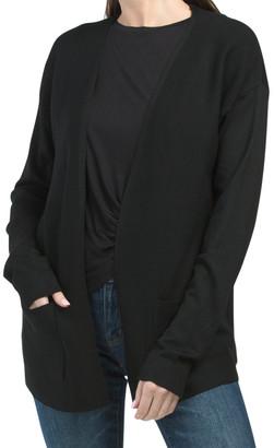 2 Pocket Ribbed Cardigan