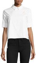 English Factory Peter Pan-Collar Poplin Shirt