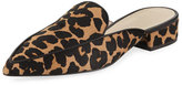 Cole Haan Piper Grand Flat Loafer Mule, Ocelot Leopard