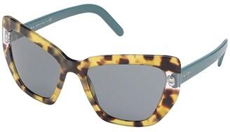 Prada 0PR 08VS (Black/Dark Grey) Fashion Sunglasses