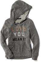 Old Navy Relaxed French-Terry Hoodie for Girls