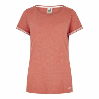 Weird Fish Trinity Cotton Short Sleeve T-Shirt Bubblegum Size 10