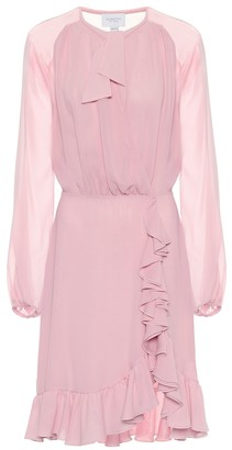 Giambattista Valli Silk chiffon mini dress