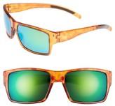 Smith Women's 'Outlier Xl' 56Mm Polarized Sunglasses - Honey Tortoise/ Polar Green