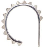 Saskia Diez Silver Pavé Ear Cuff
