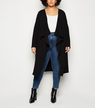 New Look Mela Curves Waterfall Jacket