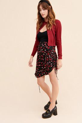 For Love & Lemons Delilah Drawstring Skirt