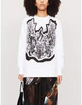 Selfridges Fyodor Golan Graphic-print cotton-jersey sweatshirt