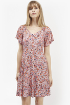 French Connection Bacongo Daisy Floral Skater Dress