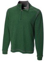 Cutter & Buck Men's Overtime Half-Zip Overknit Sweatshirt
