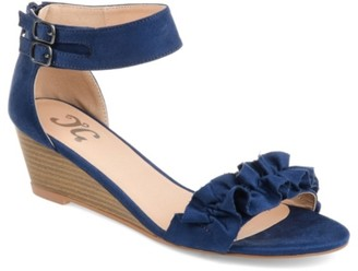 Journee Collection Aveya Wedge Sandal