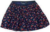 Polo Ralph Lauren Cotton Flounce Skirt (Toddler)