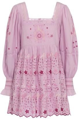 LoveShackFancy Freja cotton minidress